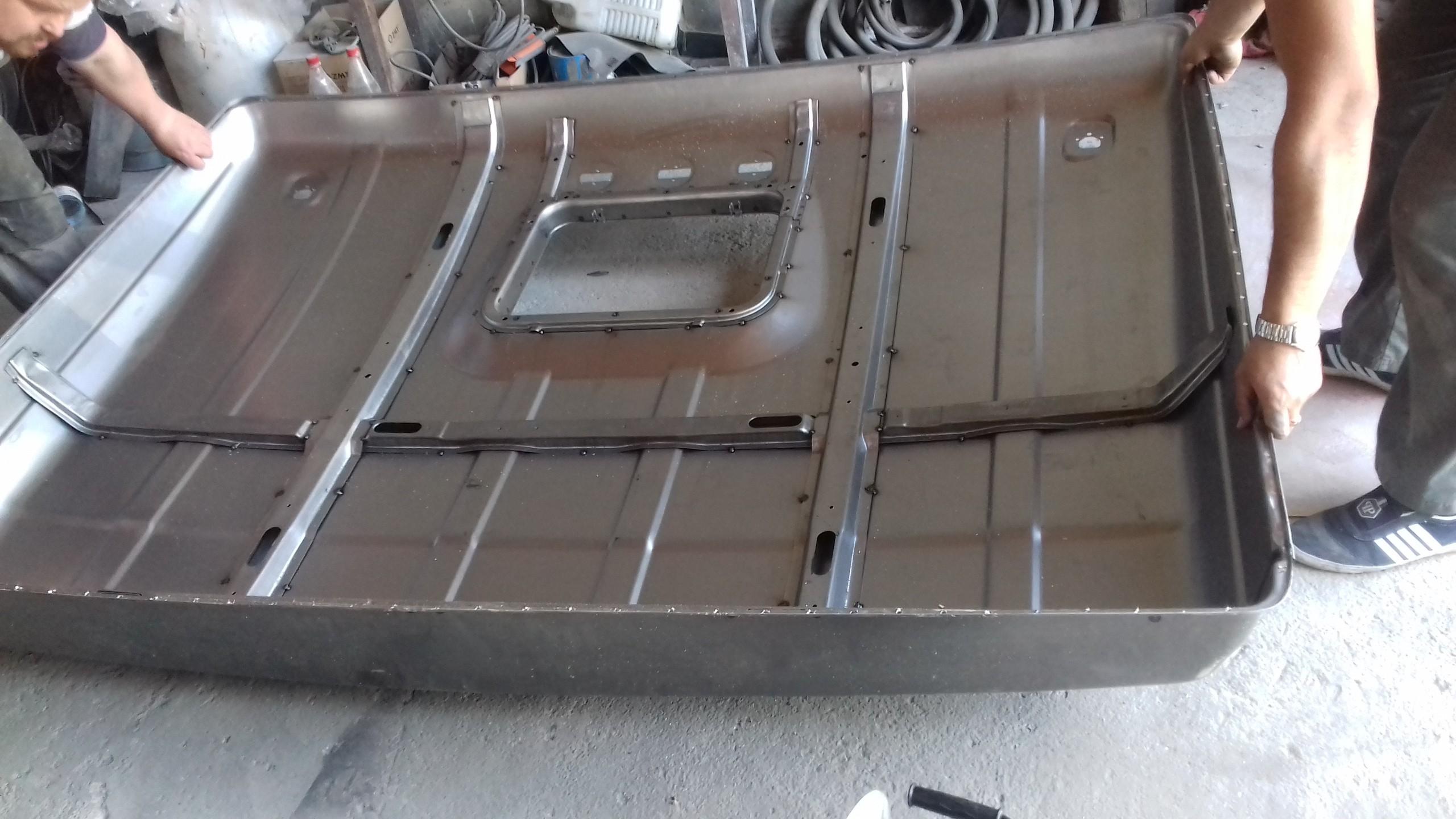 Изготовление спальника КАМАЗ с цельной крышей_2