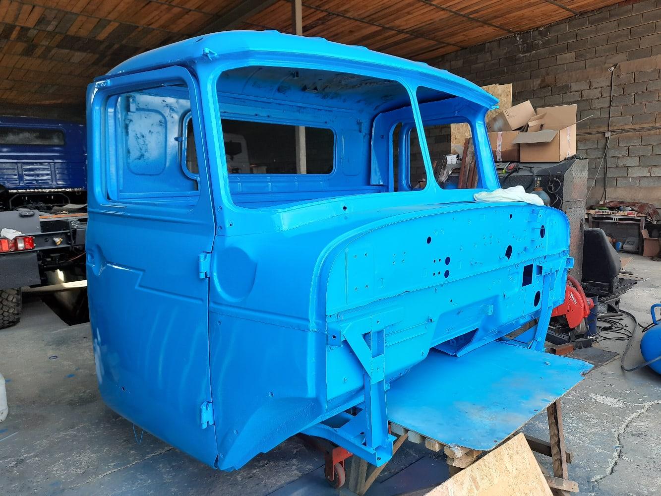 Покраска кабины Урал