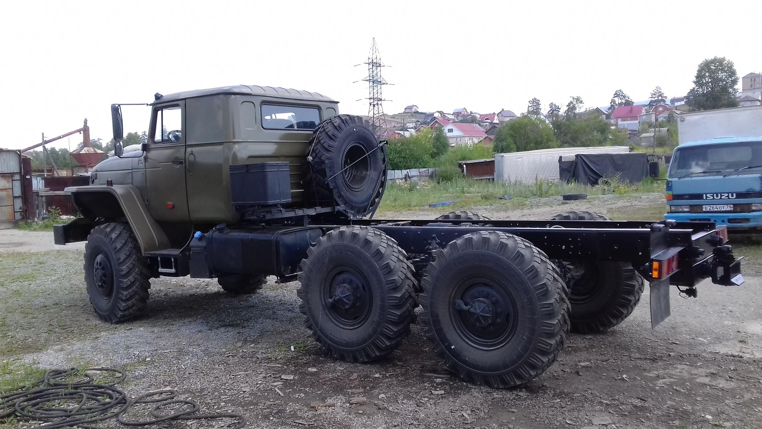 Урал - спальник, бак, ДЗК_3