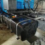 Установка и перенос топливного бака