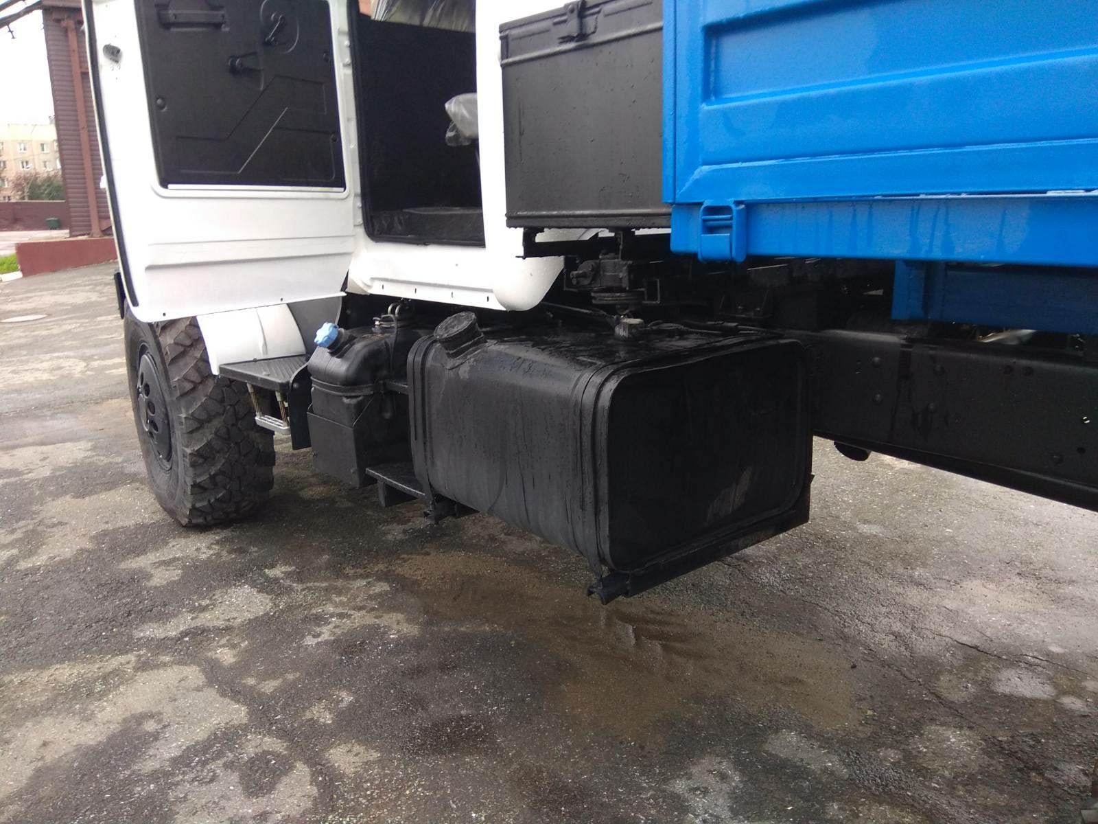 Установка сдвоенной кабины Урал_5