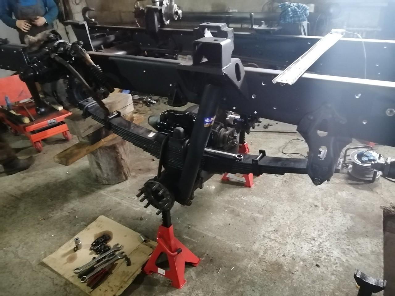 Замена передних рессор на усиленные а/м Урал-4320