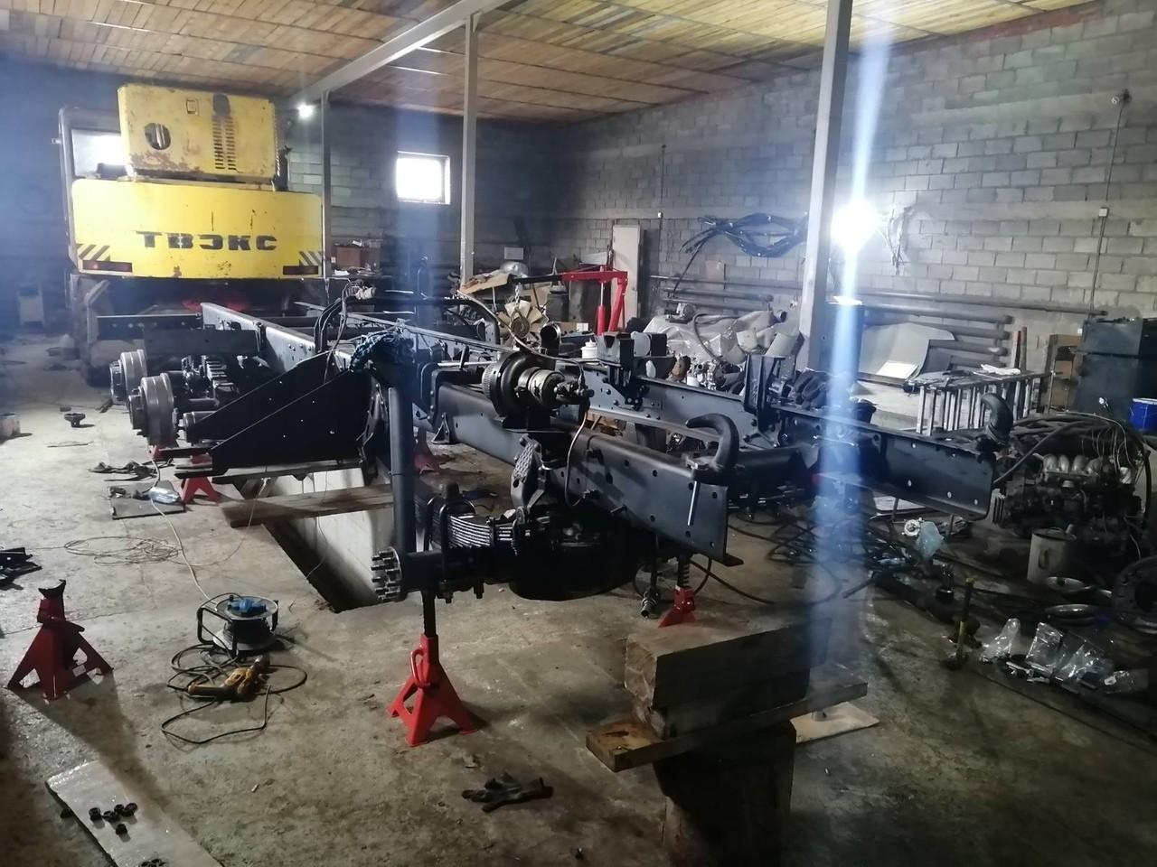 Восстановление автомобиля Урал продолжается