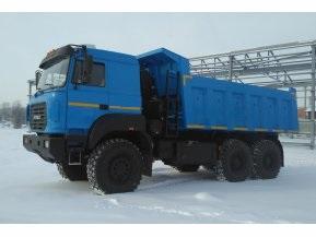 Самосвал Урал 6370 (задняя разгрузка)