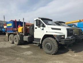 Цементировочный агрегат СИН35 на шасси Урал Next 4320-74 без ВПБ