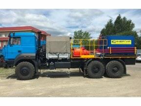 Цементировочный агрегат СИН35 на шасси Урал 4320-80 (длинная версия)