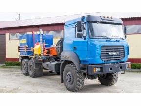 Цементировочный агрегат СИН35 на шасси Урал 4320-82 без ВПБ