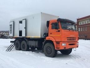 ППУ (ПГУ) на шасси КАМАЗ 43118-50