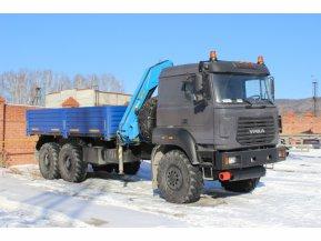 Бортовой Урал 4320-4972-80М с КМУ ИМ-150