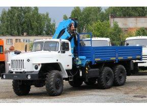 Бортовой Урал 4320 с КМУ ИМ-240