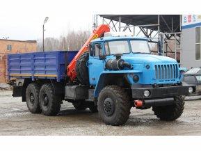 Бортовой Урал 4320 (капотный) с КМУ Palfinger 8500