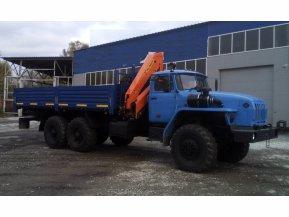 Бортовой Урал 4320 (капотный) с КМУ Palfinger РК 15500