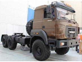Седельный тягач на шасси Урал 5557-80Е5