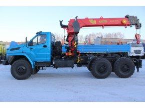 Седельный тягач Урал NEXT 4320 с КМУ IT-180