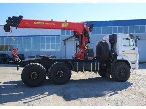 Седельный тягач КАМАЗ 43118-50 с КМУ ИТ-150