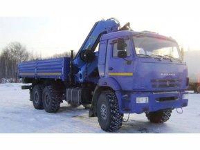 Бортовой КАМАЗ 43118-50 с КМУ ИМ-240