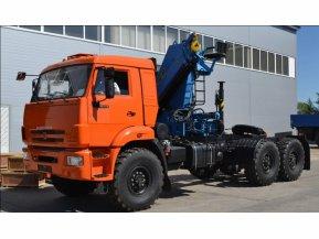 Седельный тягач на шасси КАМАЗ 43118-50 с КМУ ИМ-180