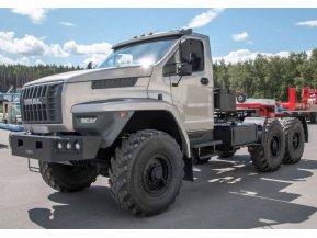 Седельный тягач на шасси Урал Next 4320-72Е5