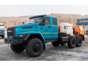 Седельный тягач на шасси Урал Next 4320-72Е5 (со спальным местом)
