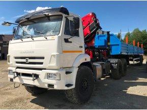 Седельный тягач на шасси КАМАЗ 43118-50 с КМУ Palfinger PK-23500А