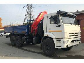 Бортовой КАМАЗ 43118-50 с КМУ PALFINGER РК 23500А