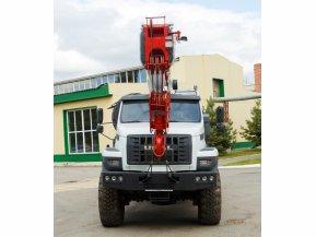 Автокран Челябинец КС-55732-33 на шасси Урал Next