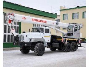 Автокран Челябинец КС-55733-26 на шасси Урал 4320