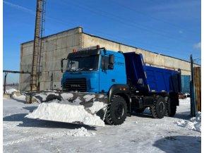 Самосвал Урал 55571-3121-80 с передним клиновидным отвалом