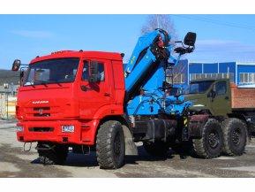 Седельный тягач КАМАЗ 43118-3078-50 с КМУ ИМ-240
