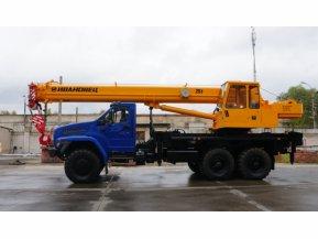 Автокран Ивановец КС-45717-2 на шасси УРАЛ-4320 NEXT