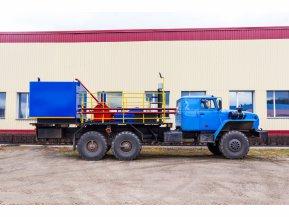 Цементировочный агрегат ЦА-320 на шасси Урал 4320-72 без ВПБ