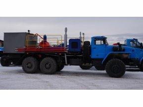 Цементировочный агрегат ЦА-320 на шасси Урал 4320-72 с ВПБ
