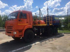 Цементировочный агрегат СИН35 на шасси КАМАЗ 43118-50 с ВПБ