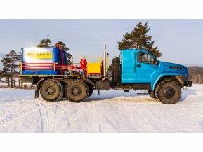Цементировочный агрегат СИН35 на шасси Урал Next 4320-72 (со спальным местом) без ВПБ