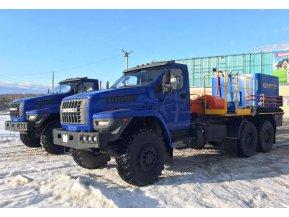 Цементировочный агрегат СИН35 на шасси Урал Next 4320-72 с ВПБ