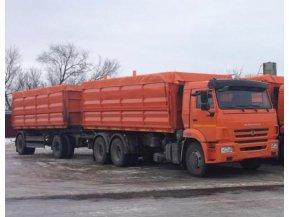 Самосвал КАМАЗ 65115-50 сельхозник