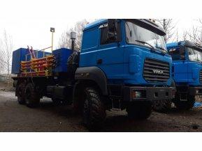 Цементировочный агрегат ЦА-320 на шасси Урал 4320-82 с ВПБ