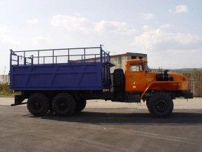 Самосвал Урал 4320(5557) капотный